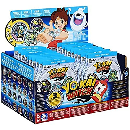 Yo-Kai Watch Series 1 YOKAI MEDALS Mystery Box by Yokai Watch