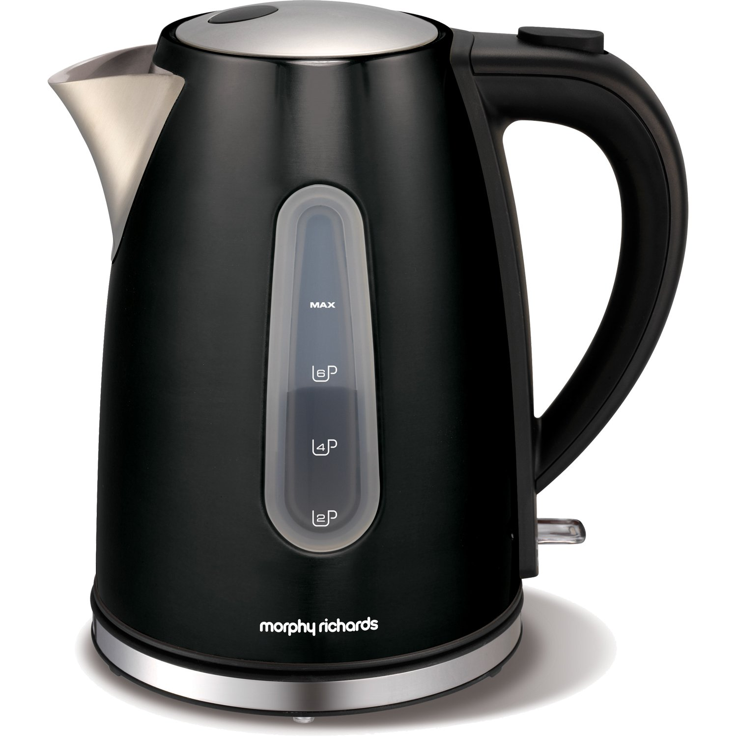 5l accents range only electricals co uk small kitchen appliances - Morphy Richards Accents Black 1 5l Jug Kettle And 2 Slice Toaster Kicthen Set Amazon Co Uk Kitchen Home