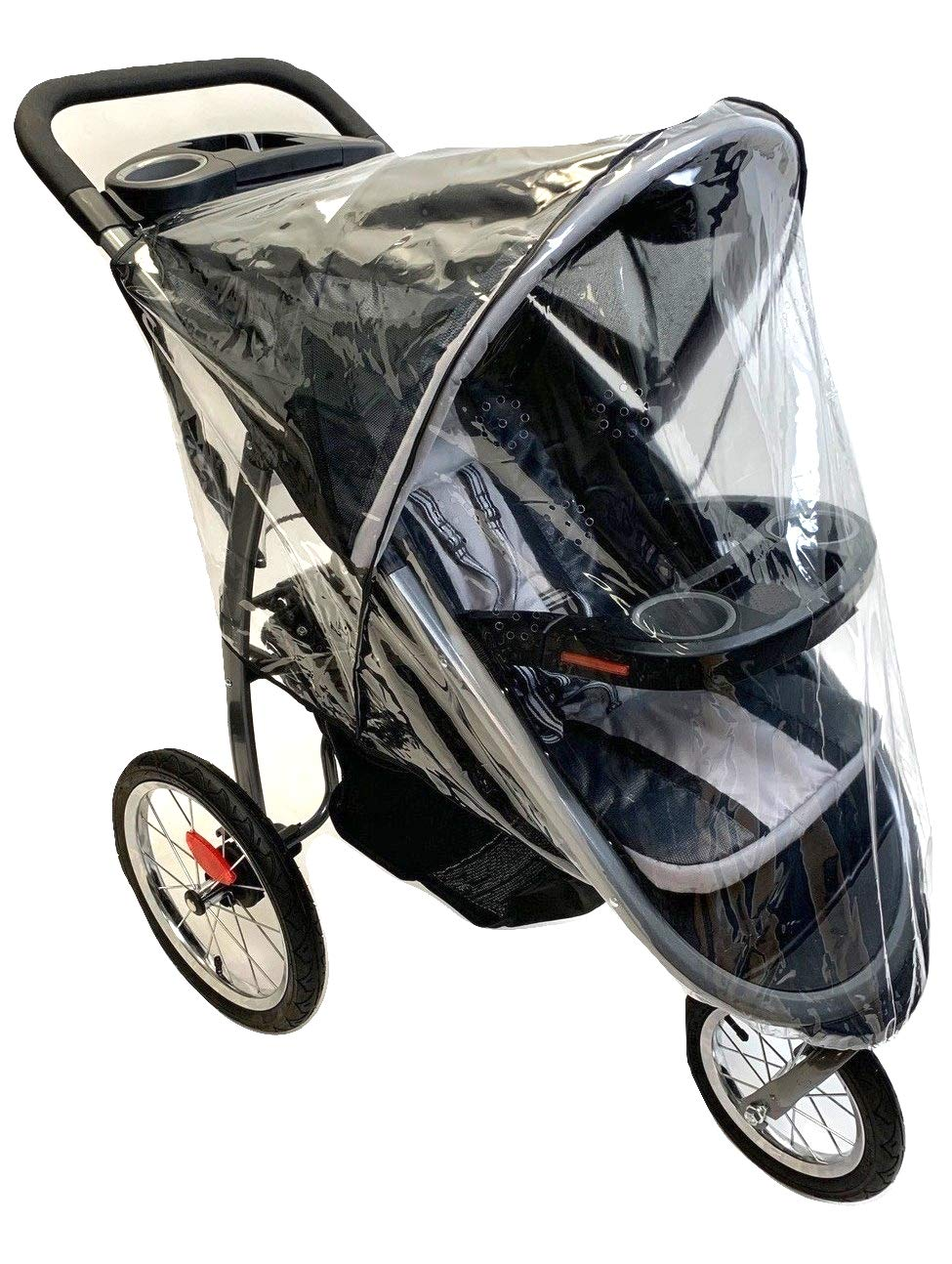 Sashas Rain and Wind Cover For the Graco FastAction Fold Click Connect Jogger Stroller