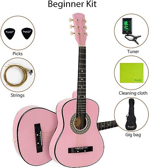 Viento 30 pulgadas 1/2 tamaño niños principiantes Guitarra ...