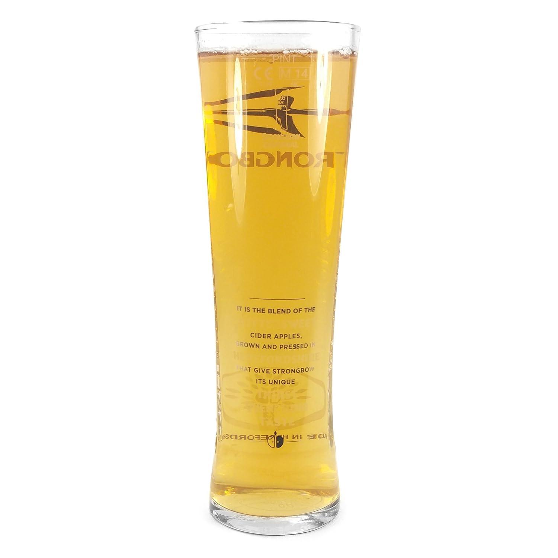 Barware CE Craft Beer Ale Abbey Glass 14.25oz Tuff-Luv 2 x Original Beer Glass Glasses 418ml