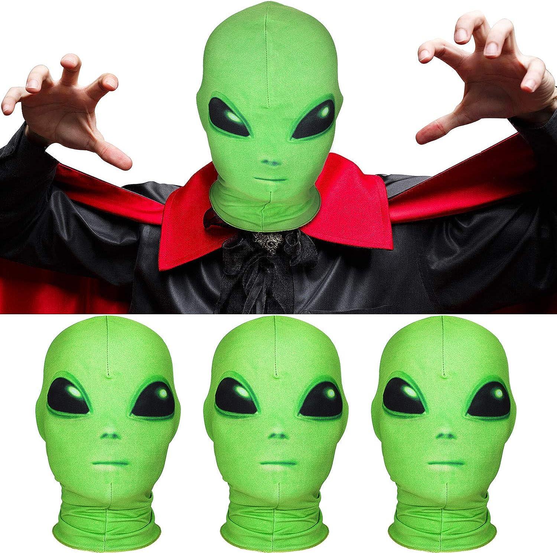 Alien Head Mask Halloween Alien Mask Cosplay Costume Parties