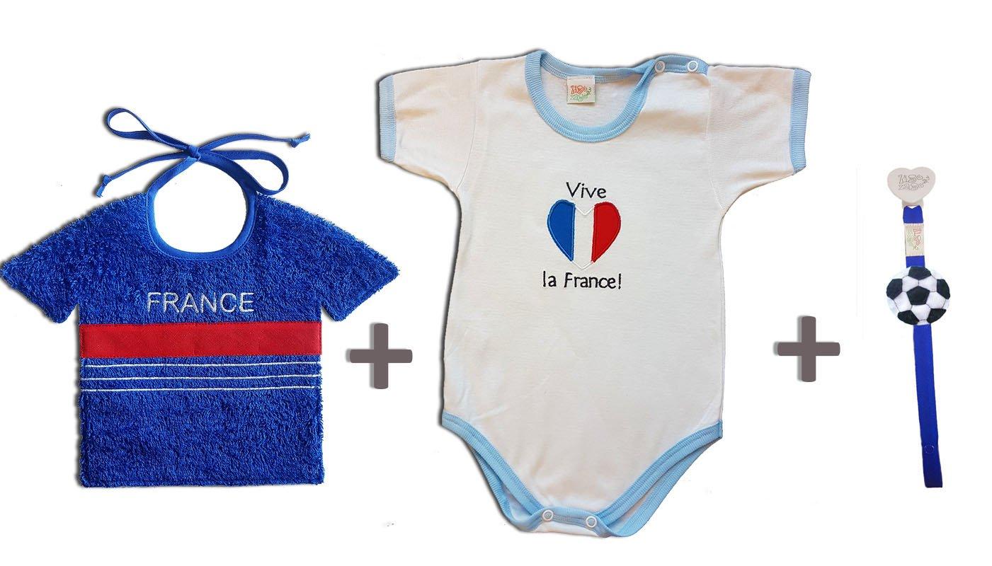 Zigozago - Juego Mundial Francia compuesto de babero + Body ...