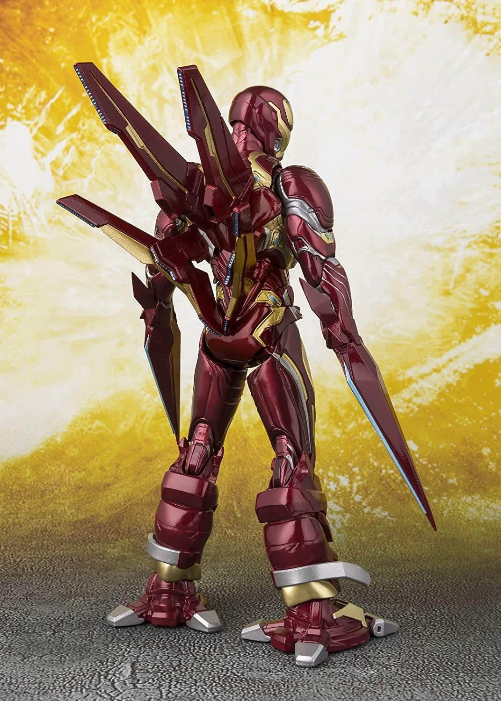 INFINITY WAR IRON MAN Mk-50 Nano-ARMA Set S.H Figuarts Action Figure Avengers