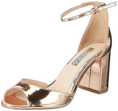 6b81fe3402e Miss KG Women s Gaze Open-Toe Heels  Amazon.co.uk  Shoes   Bags