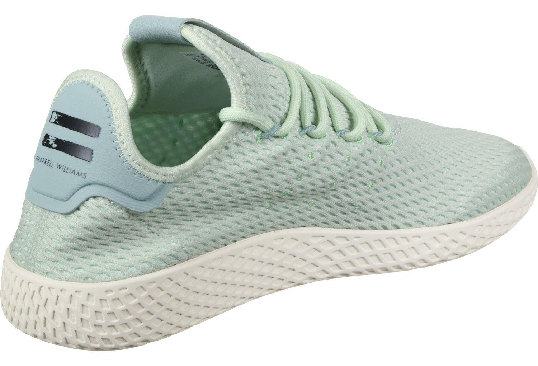 adidas Originals PW Tennis HU Mens Trainers Sneakers (UK 4 US 4.5 EU 36 2/3, Linen Green CP9765)