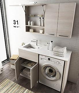 Dafnedesign.com - Mobile lavanderia porta lavatrice / asciugatrice e ...