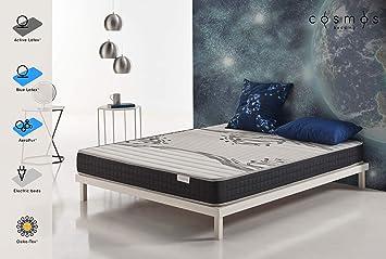 COSMOS® - COLCHÓN Genesis 135x190 cm - Espuma ADAPTATIVA Active Latex® - Compatible SOMIER ELECTRICO - 17 CM: Amazon.es: Hogar