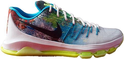 Zapatillas de baloncesto Nike KD 8 N7 Blanco / Negro / Botas para ...