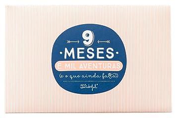 Mr. Wonderful - Álbum, diseño 9 meses y mil aventuras, cartón, color salmón (versión portuguesa): Amazon.es: Hogar
