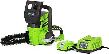 Greenworks 10-Inch Cordless Chainsaw