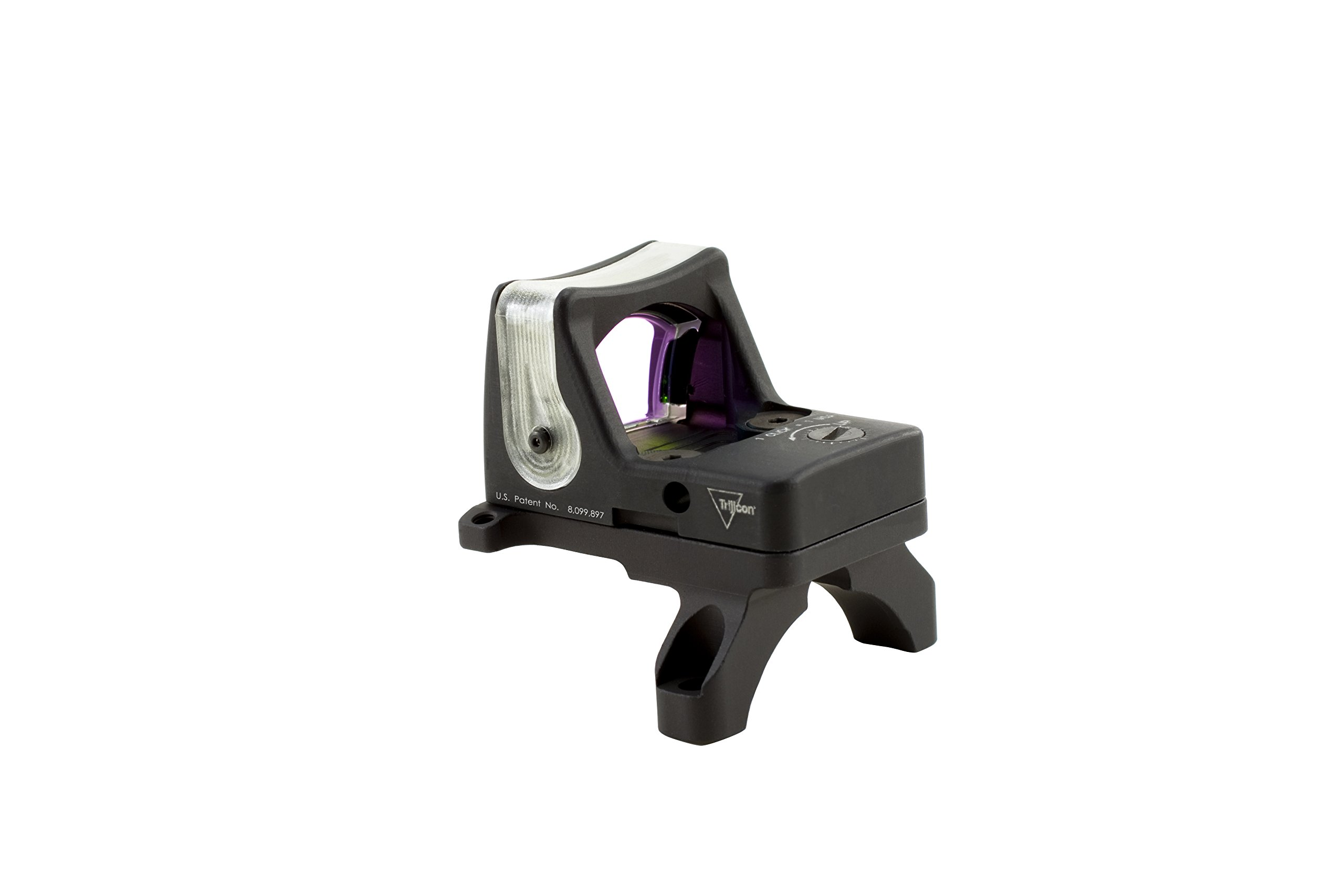 Trijicon RM04-35 RMR 7 MOA Dual-Illuminated Amber Dot Sight with RM35 Full Size ACOG Mount with Bosses by Trijicon (Image #3)