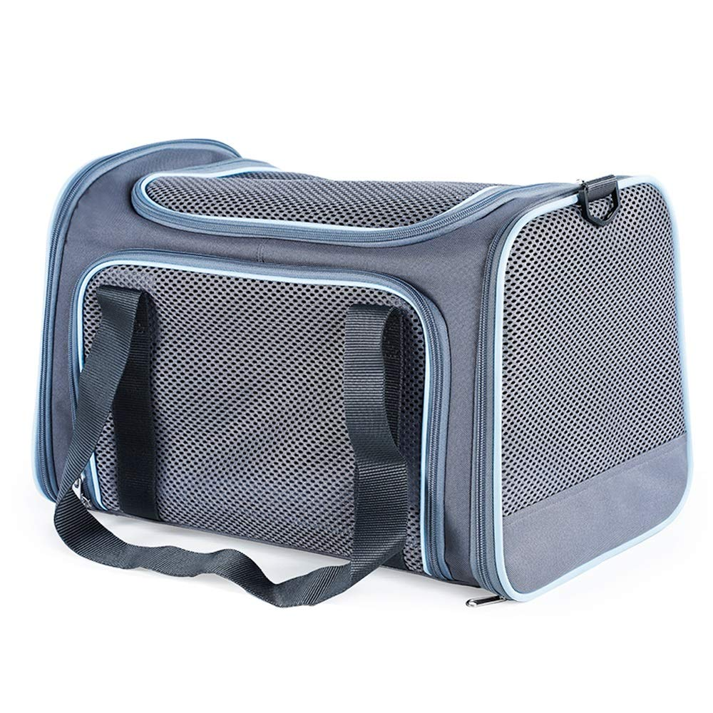 A LargeCL Pet Bag  Portable Pet Outing Backpack Dog Cat Cage Backpack  Four colors Available In Three Sizes Pet bag (color   D, Size   M)