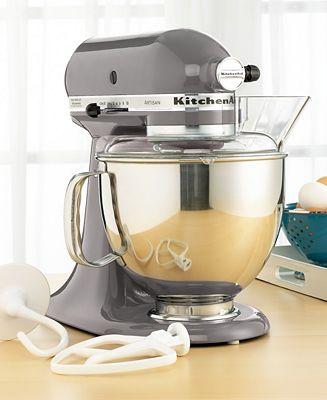 KitchenAid KSM150PSSM Artisan 5 Qt. Stand Mixer - Electrics - Kitchen - Macy's Bridal and Wedding Registry