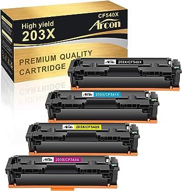 Arcon Toner Compatible With Hp 203x Cf540x Toner Bürobedarf Schreibwaren
