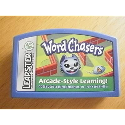 Leapster: Word Chasers - Arcade Style Learning! (Cartridge ONLY): Toys & Games