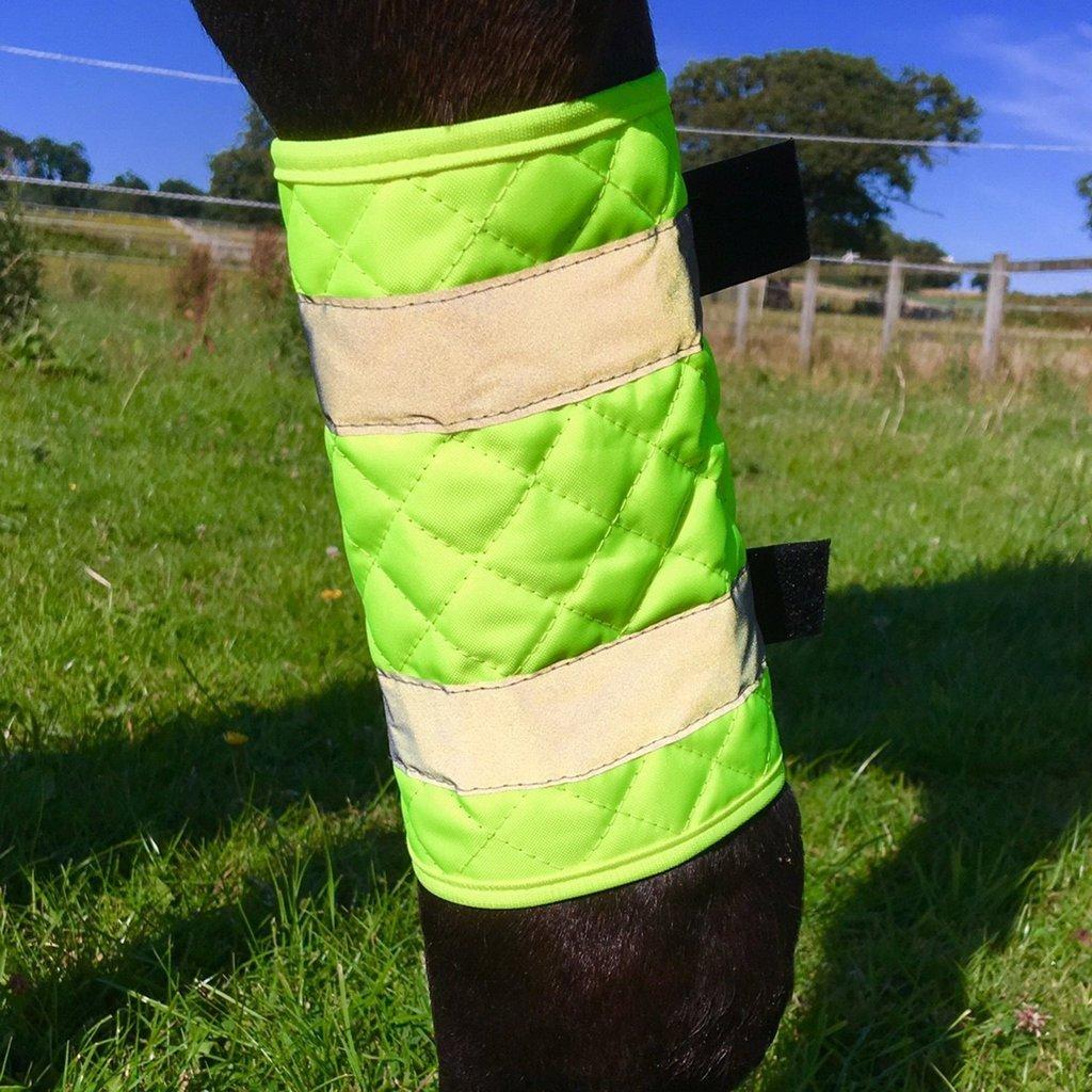 Weatherbeeta Equisafety Leg Boots II Yellow