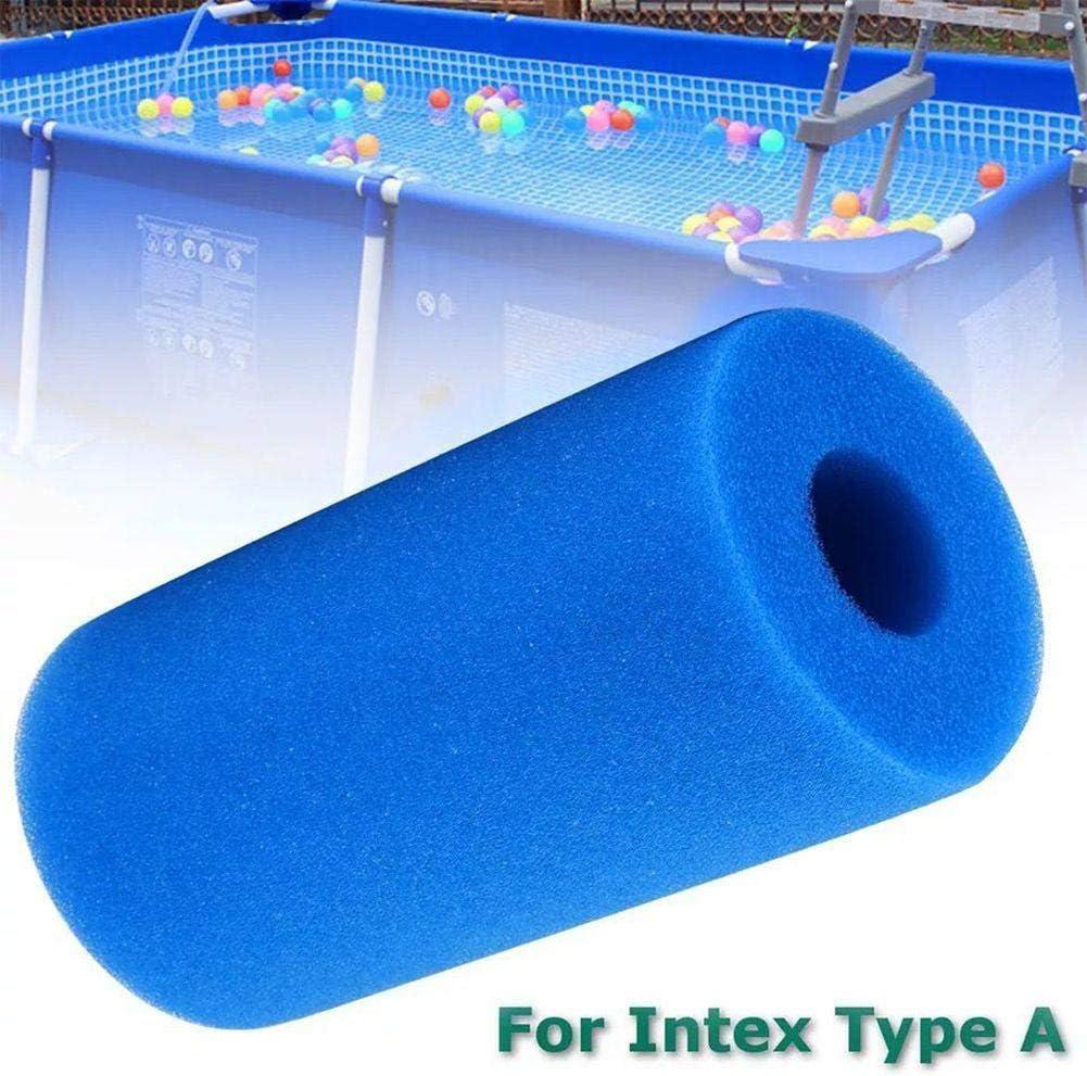pour Intex A Type Filtre Spa R/éutilisable Lavable Filtre Mousse pour Spa Intex Pure Spa Type A Globents Filtre /Éponge Filtrante