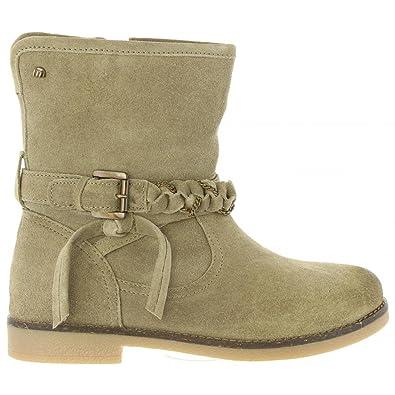 MTNG 97132 Beige - Chaussures Bottine Femme