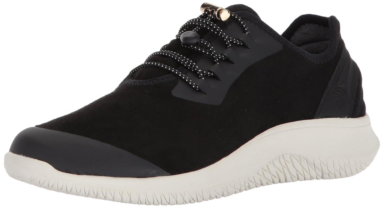 Dr. Scholl's Shoes Women's Flyer Sneaker B074NG8W3T 8 B(M) US Black Microfiber