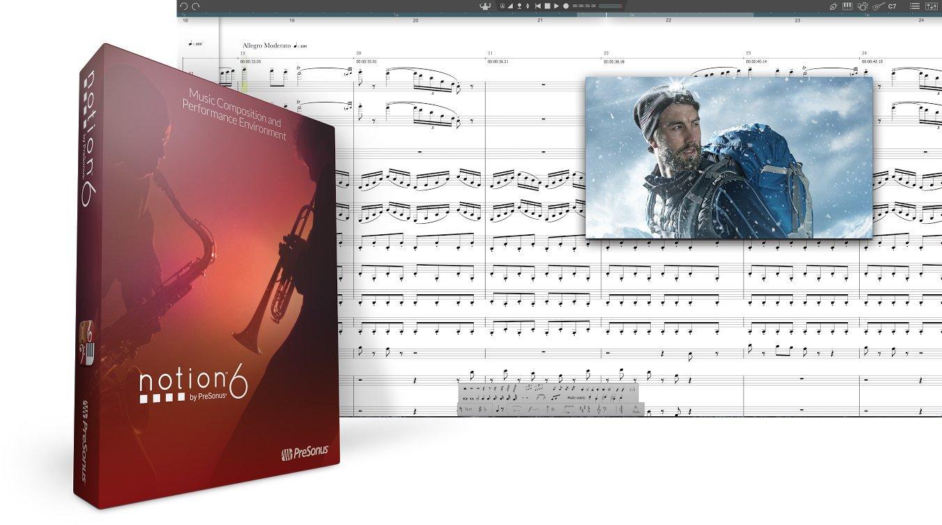 Presonus Notion 6 Music Notation Software (DNLD Box by PreSonus