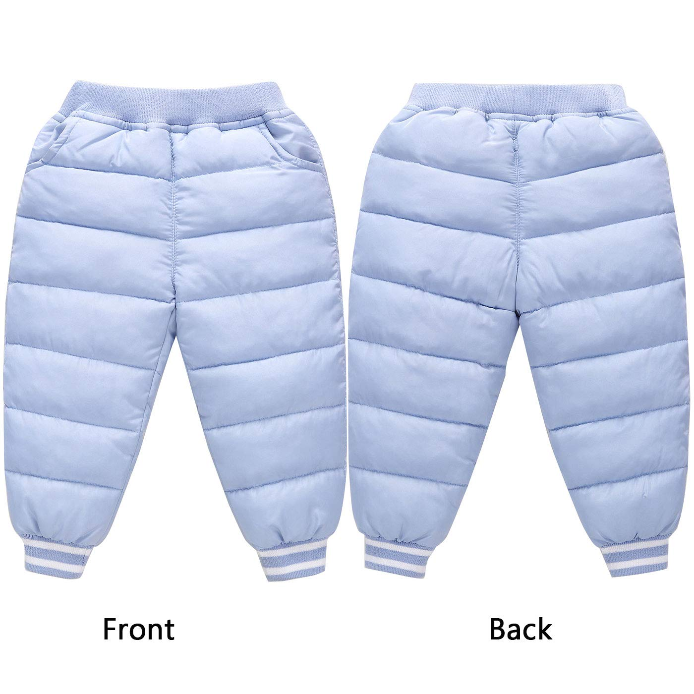 3d0d2b810 Baby Boys Girls Outerwear Ultra Light Down Compact Pants Kids Winter ...