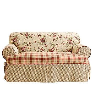 Amazon.com: Sure Fit Lexington t-cushion One Piece sofá ...