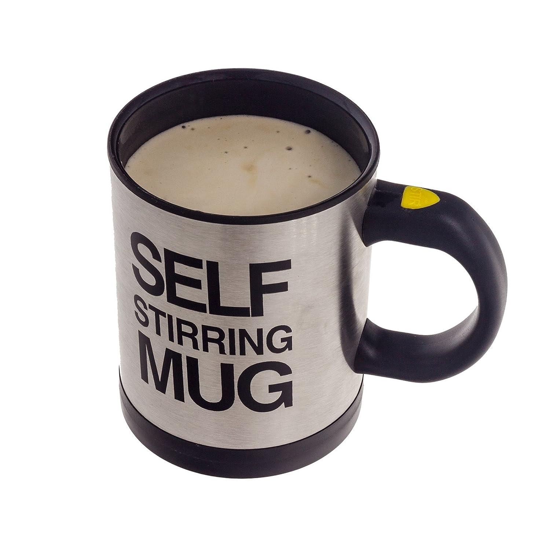 Selbstrührender Kaffeebecher