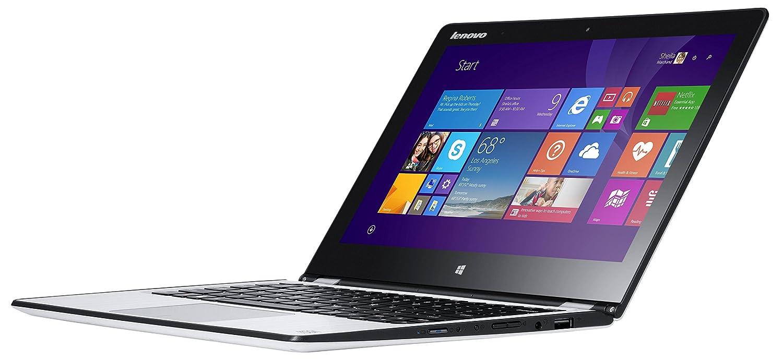Lenovo Yoga 3 11 29,5 cm (11,6 Zoll FHD IPS) Convertible Ultrabook (Intel Core M-5Y10C, 2,0 GHz, 4 GB RAM, 128 GB SSD, Intel HD Graphics, Touchscreen, Win8.1) weiß