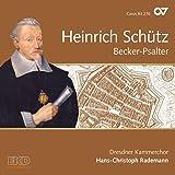 Schütz: Becker-Psalter - Schütz-Edition Vol. 15