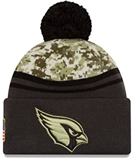 e7c55cb3e Amazon.com   New Era 2018 Mens Salute to Service Knit Hat (Atlanta ...