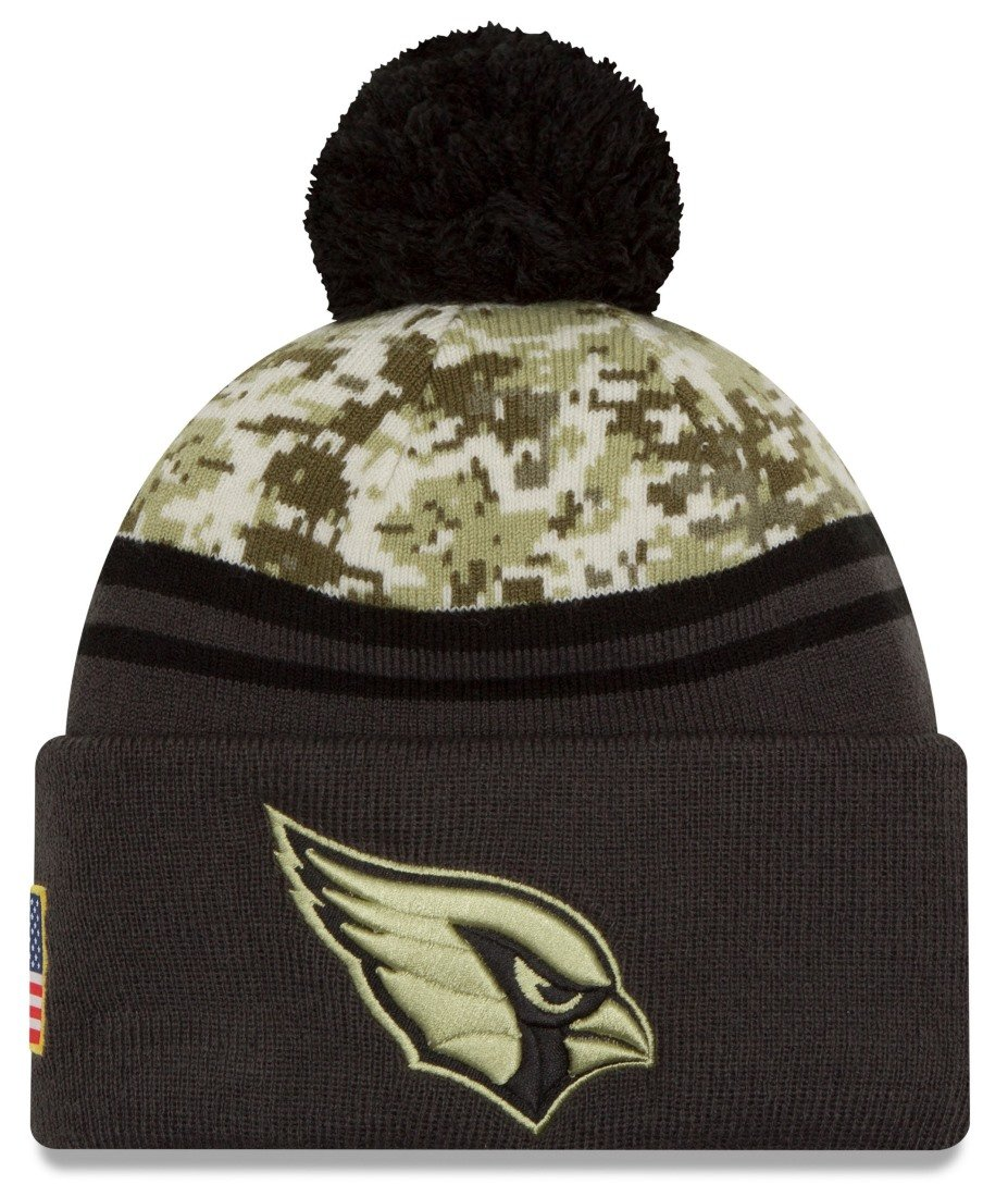 Amazon.com   New Era 2016 Men s Salute to Service Knit Hat (One Size ... 1d5ad9d64