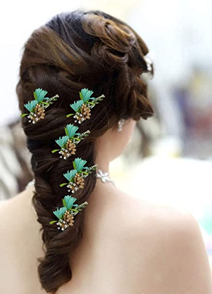 Buy Raaya Juda Pin For Hair Party Wear Hair Pins Set For Girls