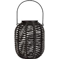 Pauleen 48167 Sunshine Treasure güneş enerjili fener, balkon veya bahçe için, siyah, dış aydınlatma, plastik, rattan…