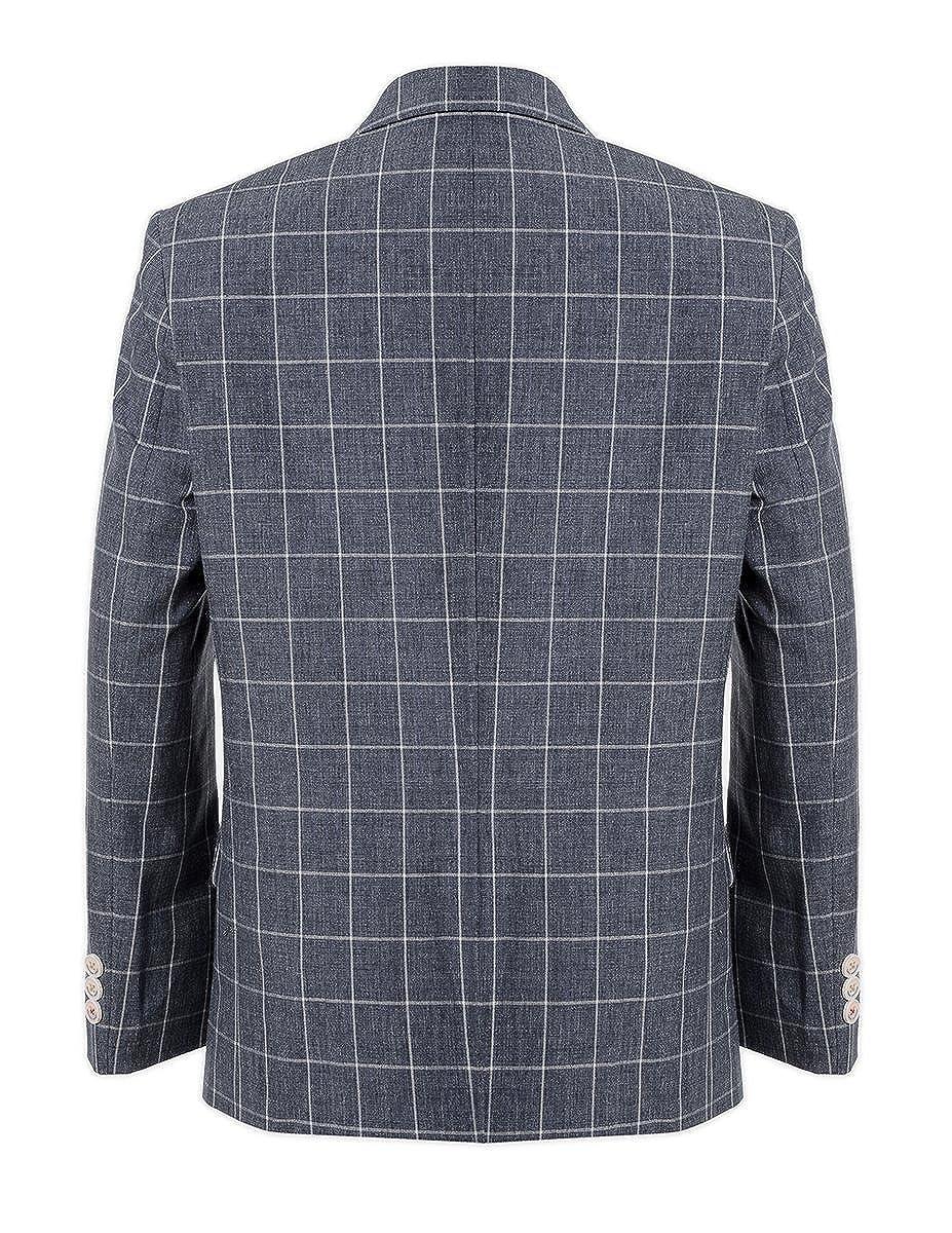 Tommy Hilfiger Boys Patterned Blazer Jacket