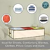 Ziz Home Zippered Under Bed Storage Bag 2 Pack
