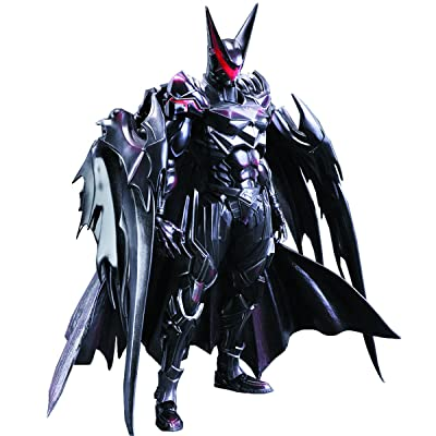 Square Enix DC Comics Variant Play Arts Kai Batman (Tetsuya Version) Action Figure: Toys & Games