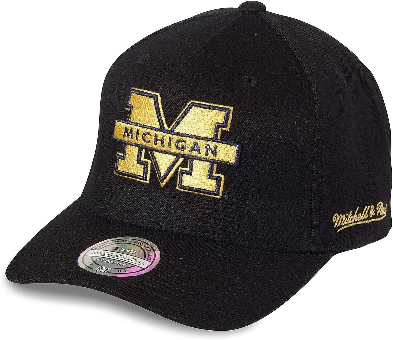 Gorra Eazy Michigan Wolverines de Mitchell & Ness - Negro ...