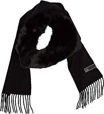 Calvin Klein K60k606175 Conjunto Bufanda, Gorro y Guantes, Negro (Black Bds), Talla única (Talla del fabricante: OS) para Mujer