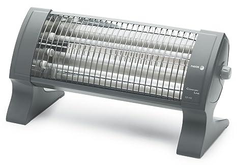 Fagor CZ150 - Radiador de cuarzo, 1500 W, 3 barras, 3 posiciones,