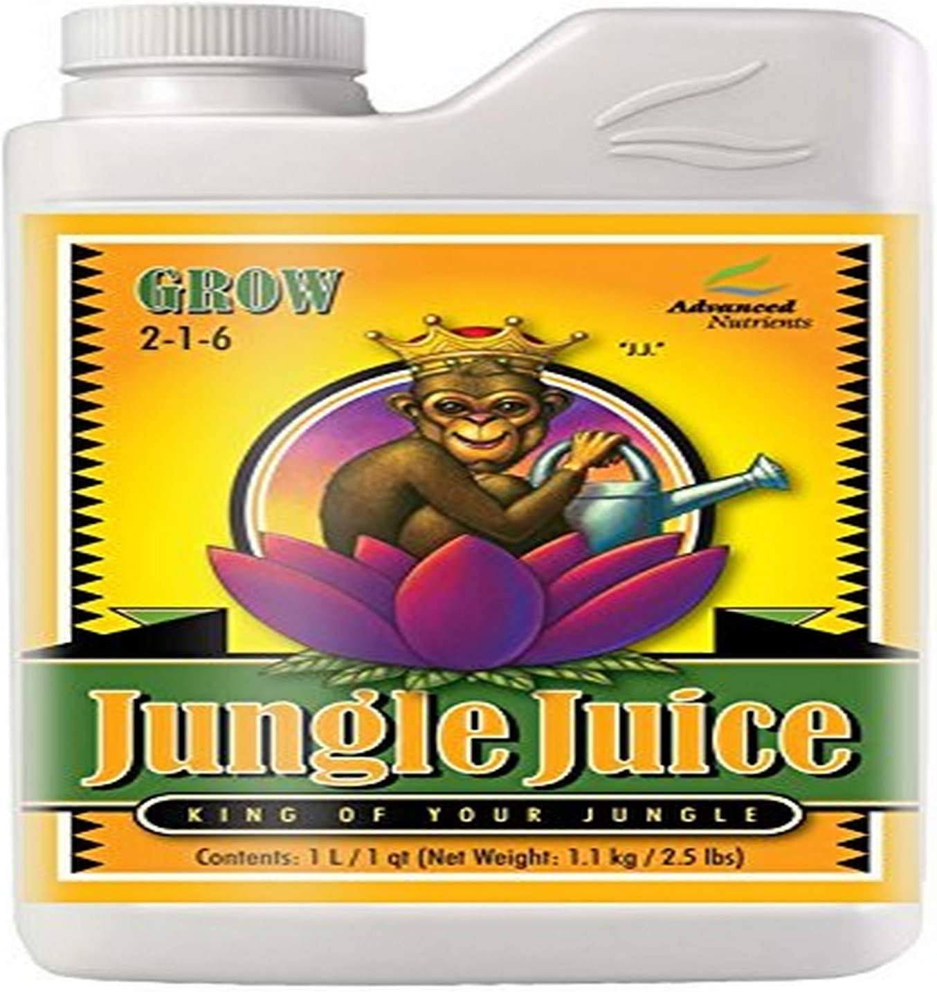 Advanced Nutrients 1725-14 Jungle Juice Grow Fertilizer