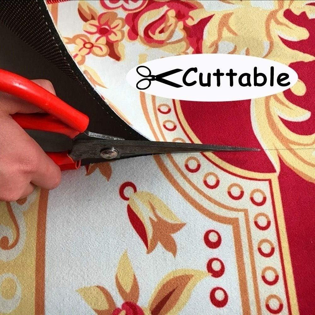 tradizionale persiana Stile Size : 100x100cm XZPENG Moquette Corridori Sala Runner antimacchia Rugs durevole for Cucina Lavabile Cuttable slittamento non protezione del pavimento