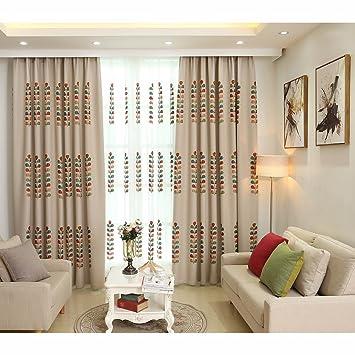 Schlafzimmer Vorhänge Pastoralen Stil fertig Wohnzimmer Vorhänge ...