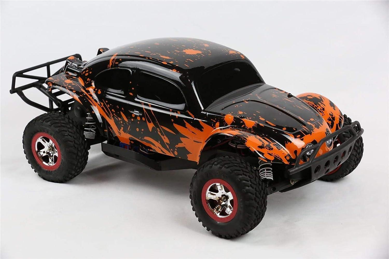 SummitLink カスタムボディ 泥だらけオレンジオーバーブラック Traxxas 1/10 Slash 4x4 VXL 2WD Slayer RCカーまたはトラック用 (トラックは含まれません) SSB-BR-03 B07MH93RDP