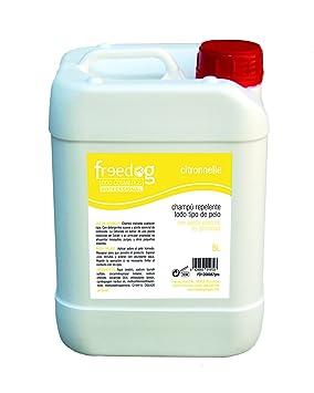 Freedog FD1200087pro - Champú, para Perro y Gato champú citronela: Amazon.es: Productos para mascotas