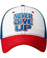 JOHN CENA Red White Blue Never Give Up Baseball Cap Hat