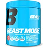 Beast Sports Nutrition Beast Mode Pre-Workout.Creatine & Beta Alanine for Muscle Building,Strength & Pumps. Intense Focus & E
