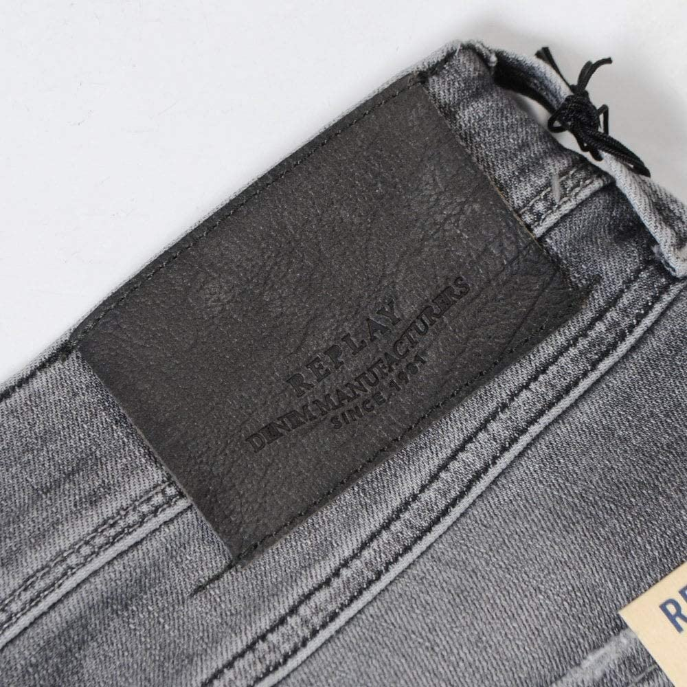 Replay Anbass Aged 10 Distressed Jeans Grey