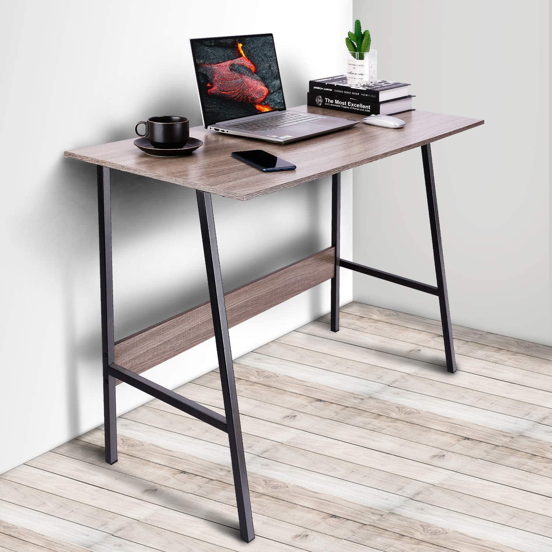 Viewee 100x48x74cm Mesa Escritorio para Mesa Ordenador para Dormitorio o Casa de Alquiler Espacio Moderado