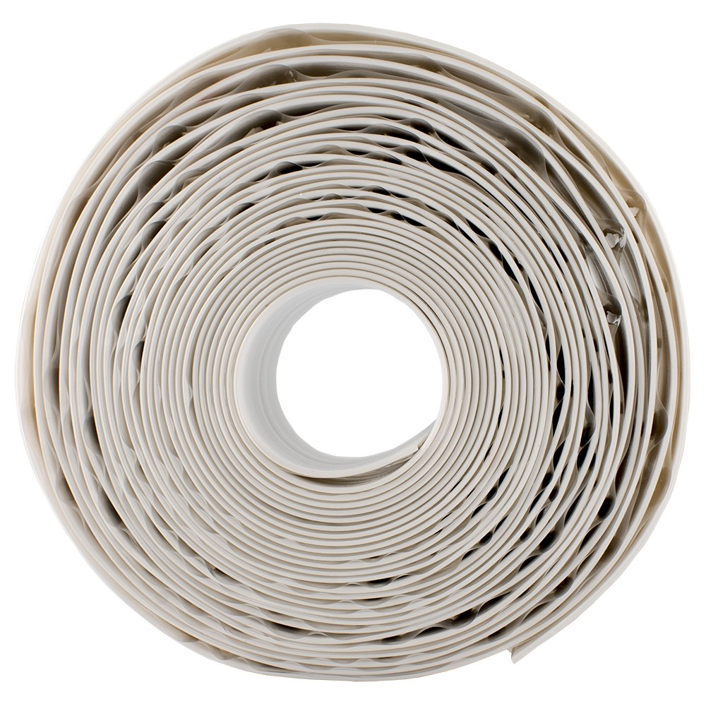 Caulk Strip White 1 5 8 x 16' Extra Wide Project Size Tub Wall and Floor Caulk Strip